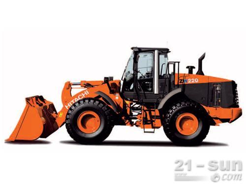 日立ZW220-5A轮式装载机外观图2
