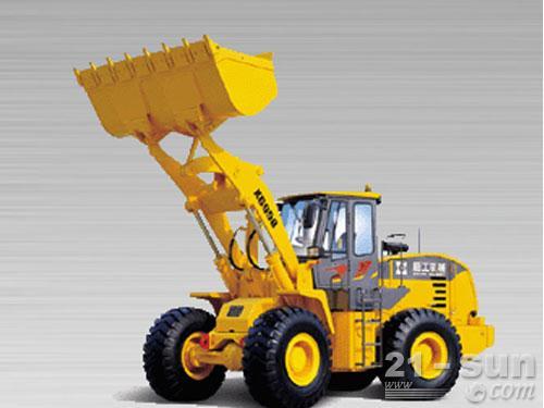 厦工XG958N轮式装载机外观图1
