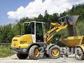 利勃海尔L 507 Stereo轮式挖掘机