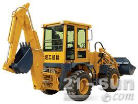 烟工WZ25-20挖掘装载机