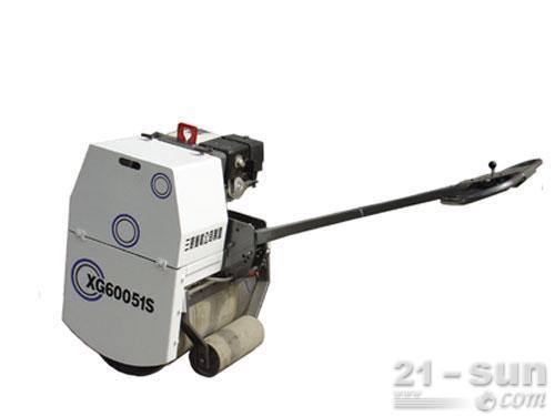 厦工XG60051S手扶式压路机外观图1
