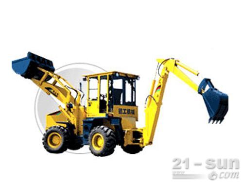 德工WZ25-20挖掘装载机