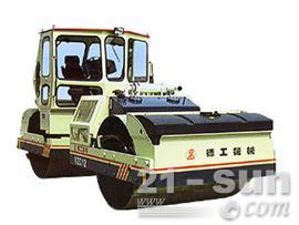 德工YZC12双钢轮压路机图片