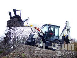 特雷克斯970 Elite挖掘装载机图片