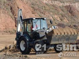 特雷克斯860 SX挖掘装载机图片