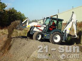 特雷克斯860 Elite挖掘装载机