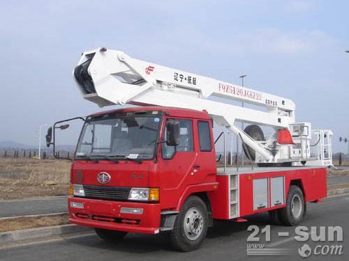 抚挖重工FQZ5120JGKZ高空作业车外观图1