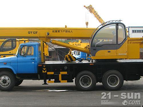 柳工BQZ5181JQZ12F随车起重机外观图1