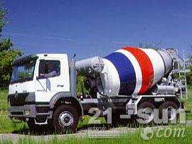 利勃海尔HTM 604混凝土搅拌运输车