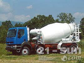利勃海尔HTM 804混凝土搅拌运输车