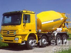 利勃海尔HTM 904混凝土搅拌运输车