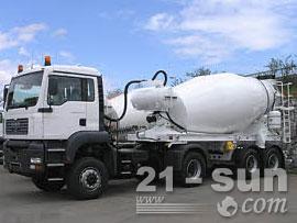 利勃海尔HTM 904 ZA混凝土搅拌运输车