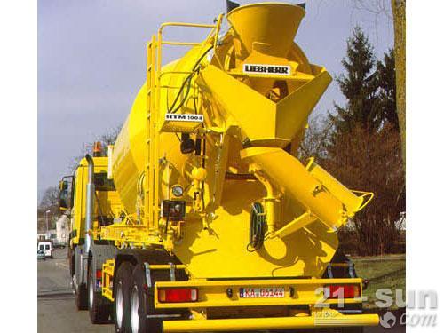 利勃海尔HTM 1004 ZA混凝土搅拌运输车外观图1