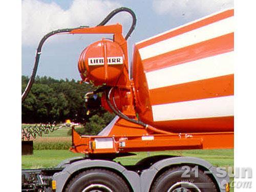 利勃海尔HTM 1004 ZA混凝土搅拌运输车外观图4