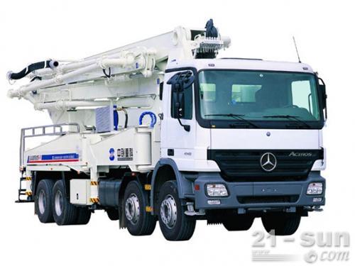 利勃海尔HTM 1204 K混凝土搅拌运输车