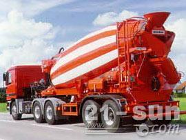 利勃海尔HTM 1204 ZA混凝土搅拌运输车