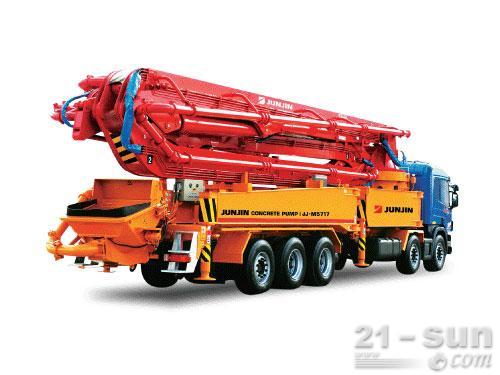 全进重工JJ-M5717混凝土泵车外观图1