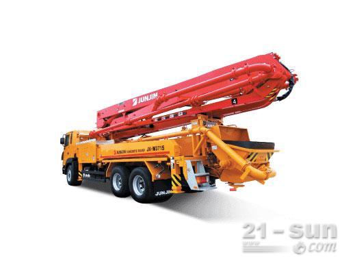 全进重工JX-M3715混凝土泵车外观图1