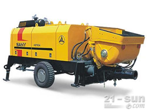三一HBT60A-1406DⅢ拖泵外观图1