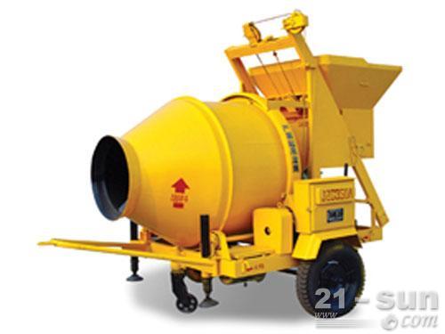 柳工JZC350A搅拌机外观图1