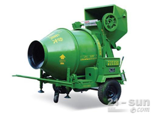 柳工JZC350搅拌机外观图1