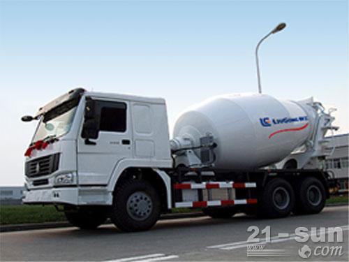 柳工YZH5253GJB混凝土搅拌运输车外观图1