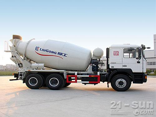 柳工YZH5253GJB混凝土搅拌运输车外观图2