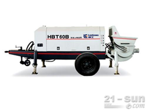 柳工HBT60B输送泵外观图1