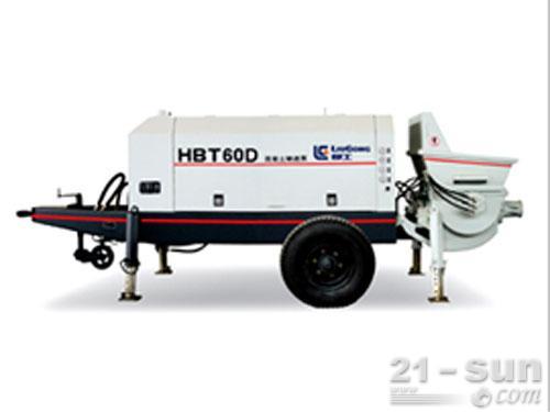 柳工HBT60D输送泵外观图1