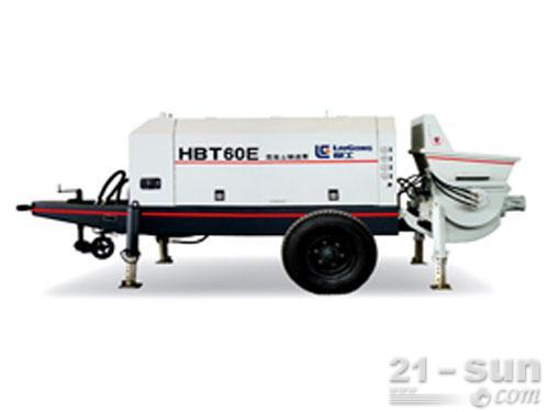 柳工HBT60E输送泵外观图1