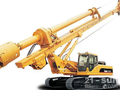 三一SR200C旋挖钻机外观图1