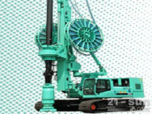 上海金泰SH25H全液压大口径钻机外观图1