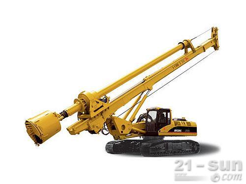 三一SR250旋挖钻机外观图1