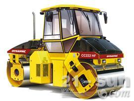戴纳派克CC222HF双钢轮压路机
