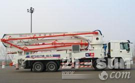 鸿达48米混凝土泵车