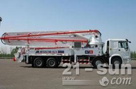 鸿达42米混凝土泵车