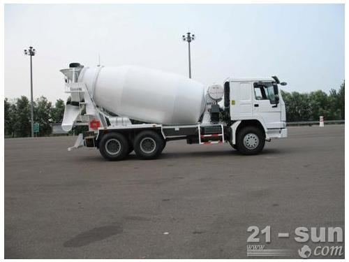 山东鸿达HDT5259GJB混凝土搅拌运输车外观图1