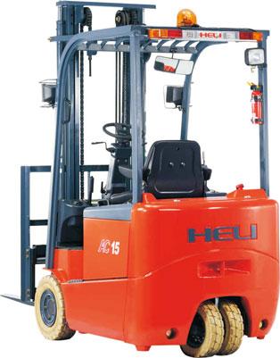 合力G系列1-2吨交流三支点蓄电池电动叉车