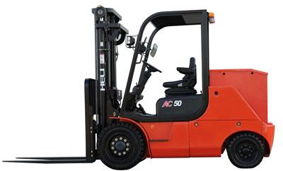 合力G系列4-5吨交流蓄电池电动叉车
