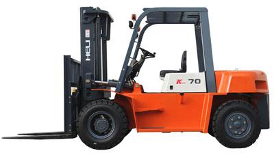 合力K系列5-7吨内燃平衡重型叉车
