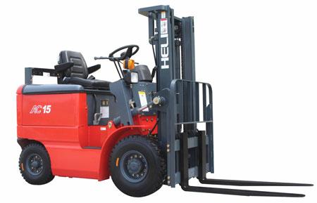 合力1-1.5吨窄车身蓄电动叉车