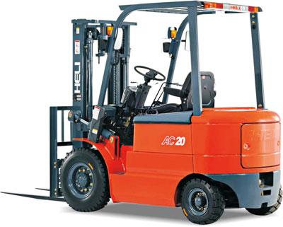 合力1-2.5吨交流四轮平衡重式蓄电池电动叉车