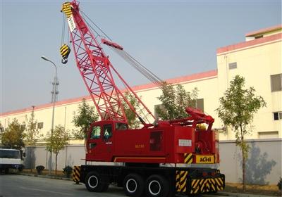 京城重工QLY55A轮胎起重机