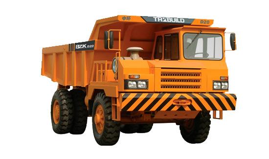 中环动力BZK D20刚性自卸卡车