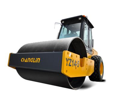 常林公司YZ14-5机械式实用型单钢轮压路机