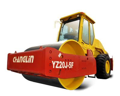 常林公司YZ20J-5F振动压路机