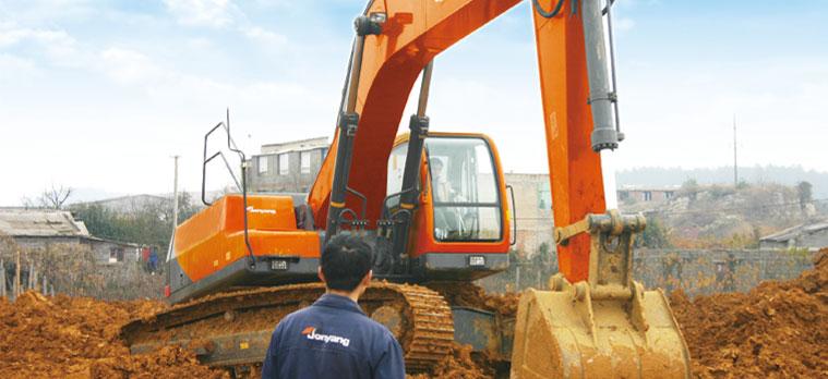 道胜JY675挖掘机