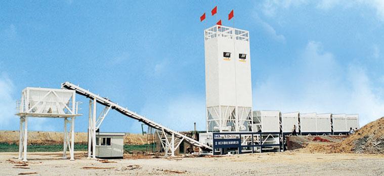 道胜WBS650E稳定土厂拌设备