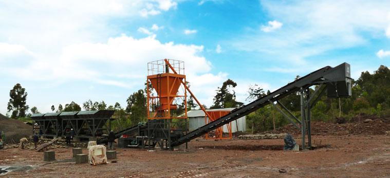 道胜WBSD500稳定土厂拌设备
