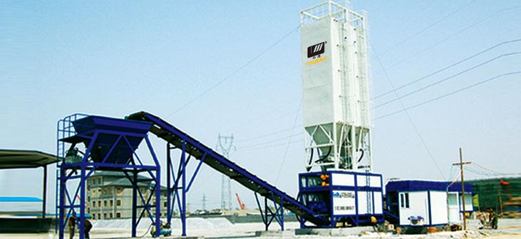 道胜WBS500E稳定土厂拌设备